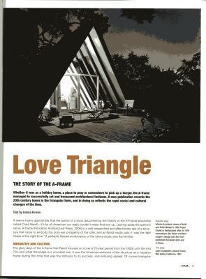 love triangle A Haus Ferienhaus Holland